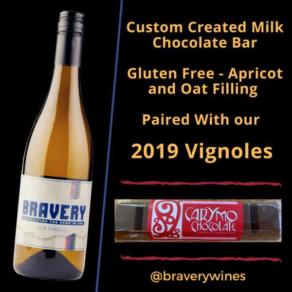 2019 Vignoles - Paired with Gluten Free Chocolate Bar