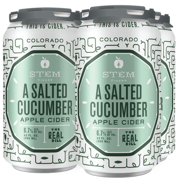 A Salted Cucumber Apple Cider