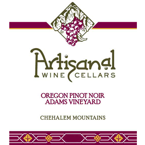 2010 Adams Vineyard Pinot Noir