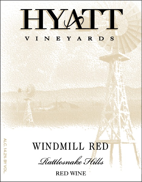 N/V Windmill Red, Estate Red Blend