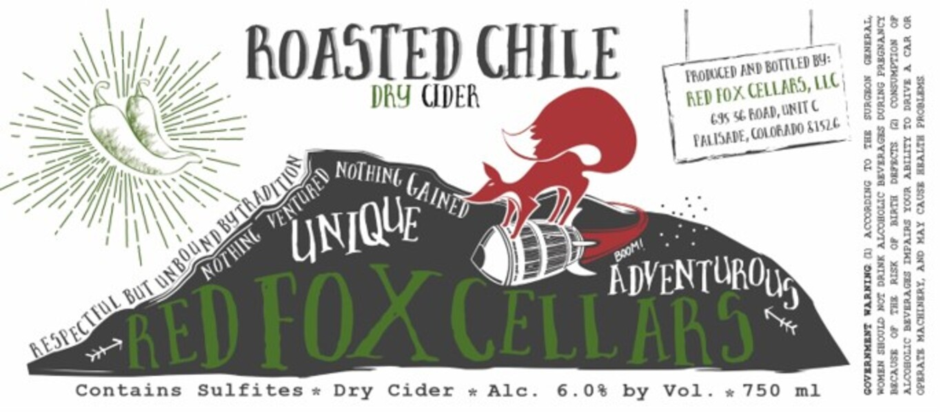 2019 Roasted Chile Dry Cider