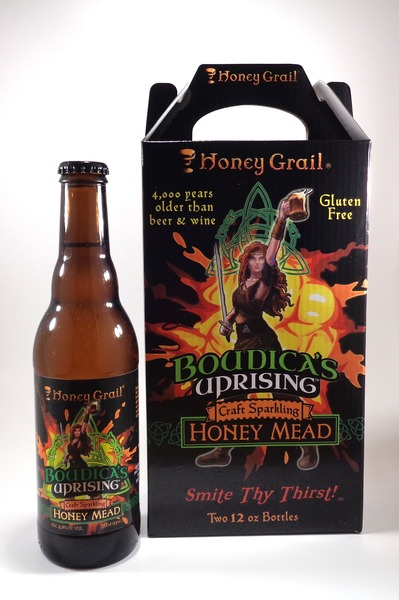 Product Image for Boudica's Uprising: Sparkling Honey Mead (TWO PACK)