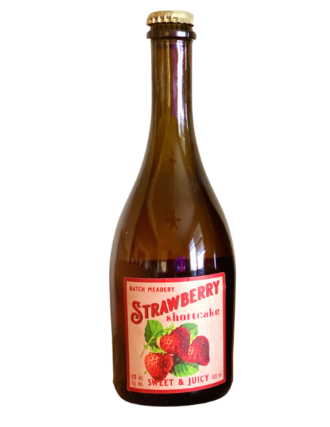 Strawberry Shortcake Mead (contains lactose)