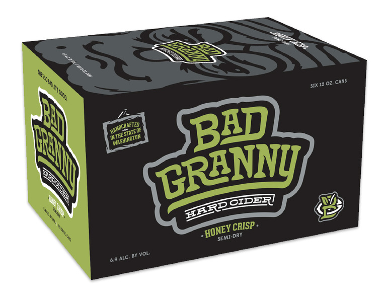 Product Image for Bad Granny Honey Crisp 6 Pack