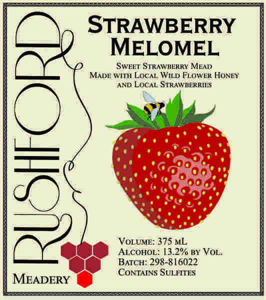 Product Image for 2018 Strawbery Melomel - 375mL
