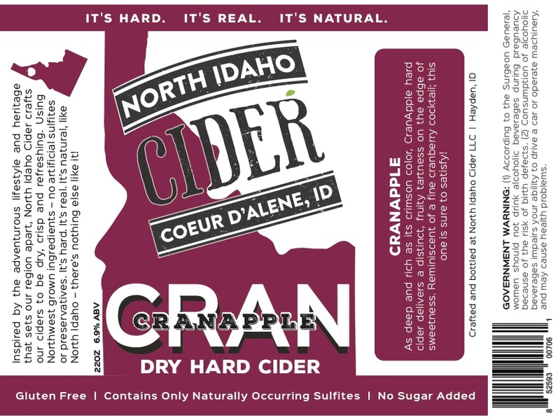 Product Image for 2017 North Idaho CranApple Cider
