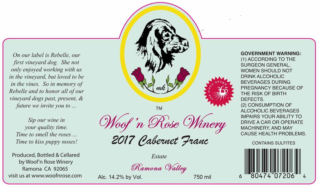 2017 Estate Cabernet Franc