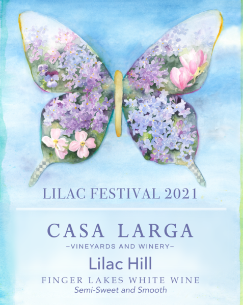Lilac Hill - Limited Edition Festival Label