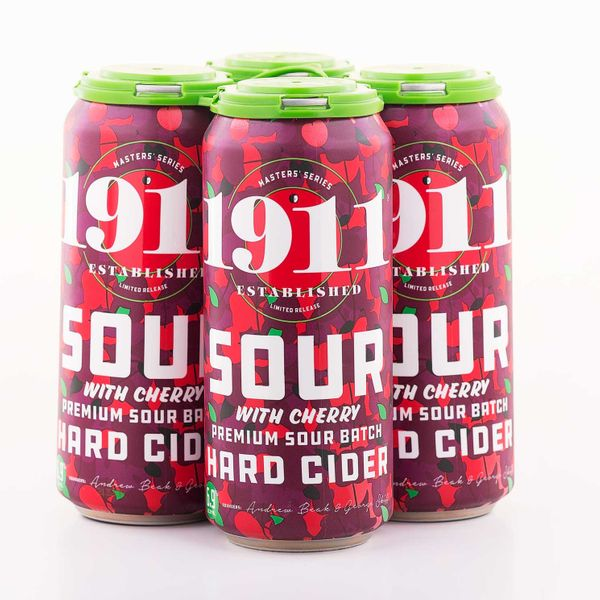 2020 Sour Cherry Hard Cider - 12 x 16oz Cans
