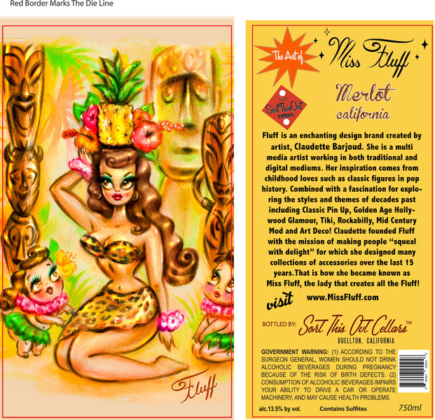 Product Image for Miss Fluff Tiki Merlot