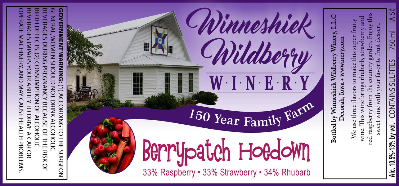 2018 Berry Patch Hoedown
