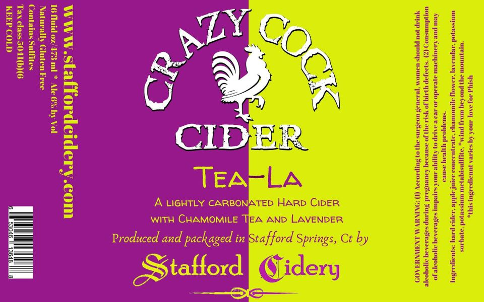 Crazy Cock Cider - Tea-La
