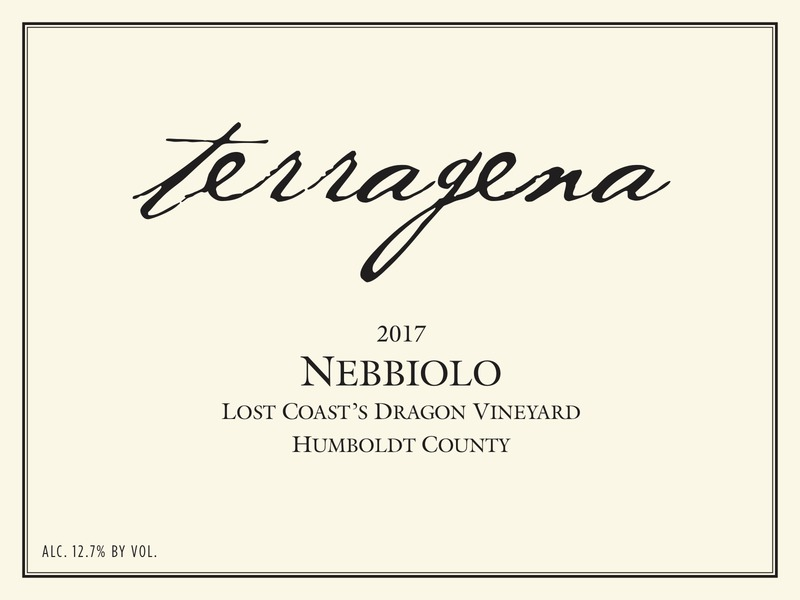 Product Image for 2017 Lost Coast's Dragon Vineyard Nebbiolo