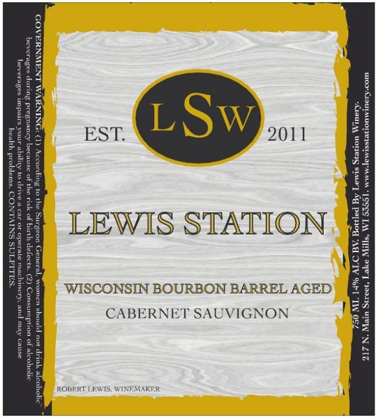 Product Image for Wisconsin Bourbon Barrel Aged Cabernet Sauvignon