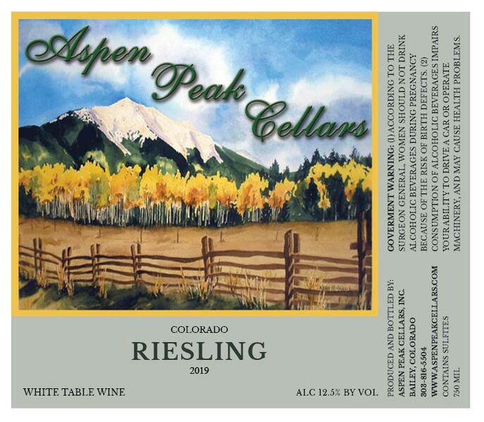 Product Image for 2019 CO Riesling