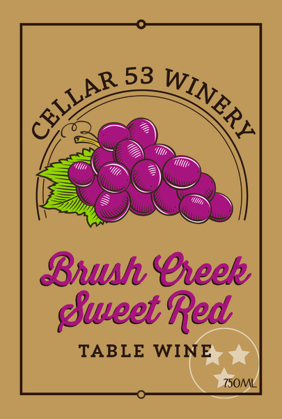 Brush Creek Sweet Red