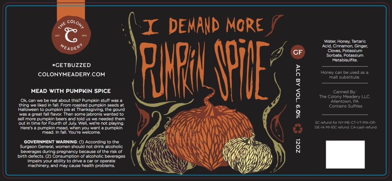 Product Image for I Demand More Pumpkin Spice