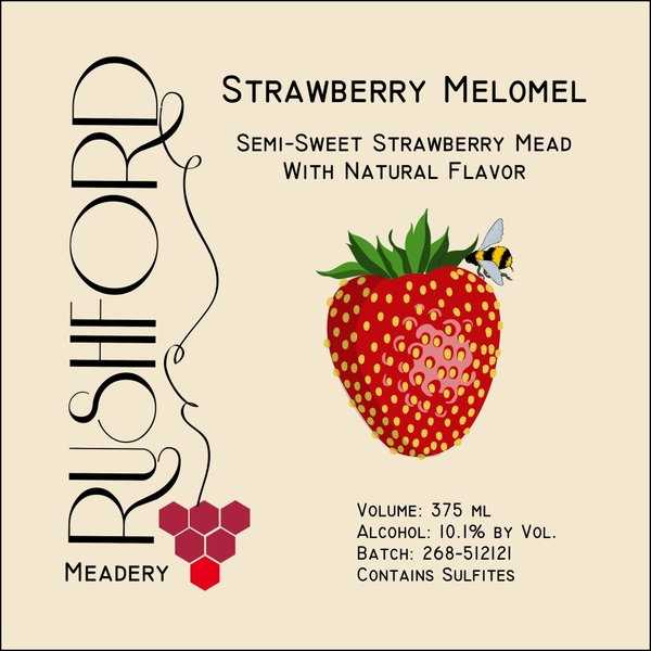 Product Image for 2015 Strawberry Melomel - 375ml