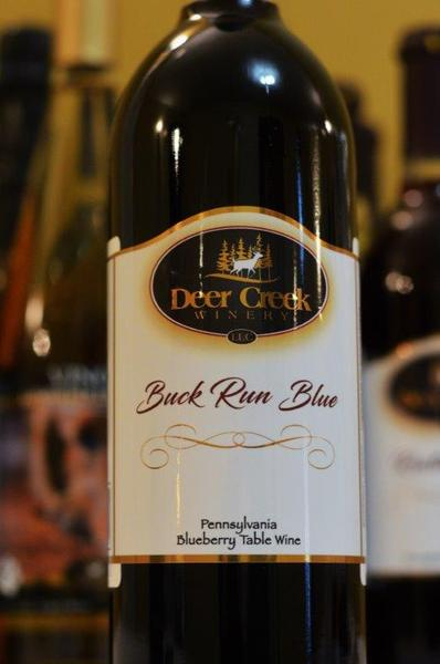 Product Image for 2018 Buck Run Blue Pennsylvania Blueberry Table Wine
