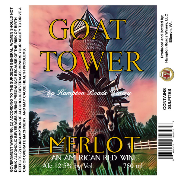 Product Image for 2018 Goat Tower Merlot