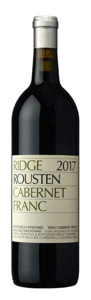 2017 Ridge Vineyards Rousten Cab Franc