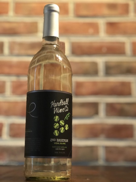 2019 2ND BASEMAN | Semi Sweet Vidal Blanc Wine