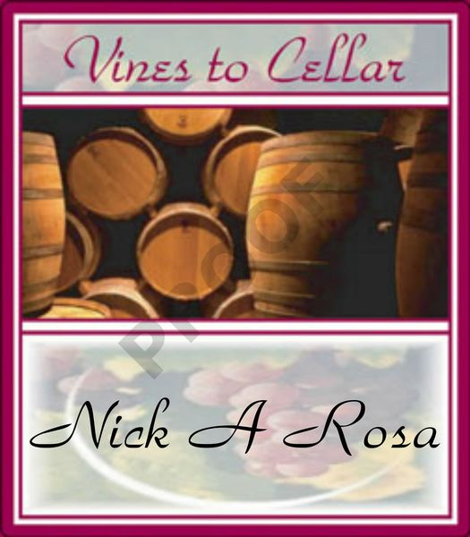 2019 Nick A Rosa (Red fruit foreward red blend