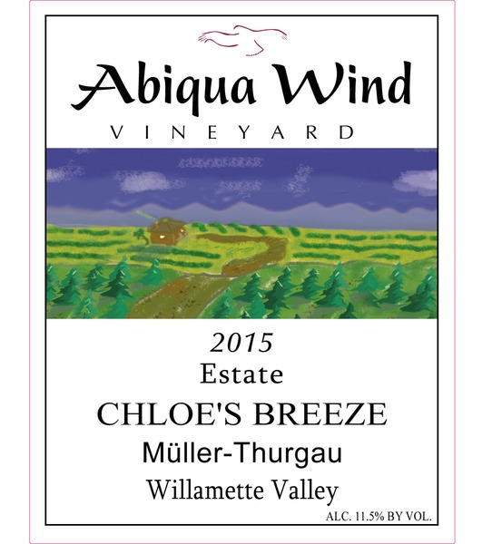 Product Image - 2015 'Chloe's Breeze' Muller-Thurgau