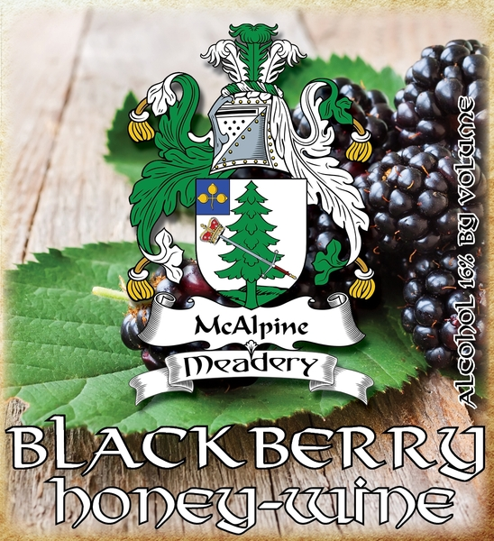 Product Image for 2018 Blackberry Honey-Wine