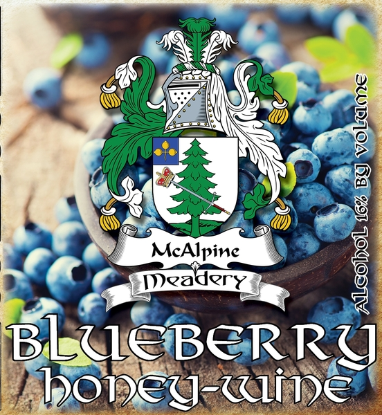 Product Image for 2018 Blueberry Honey-Wine