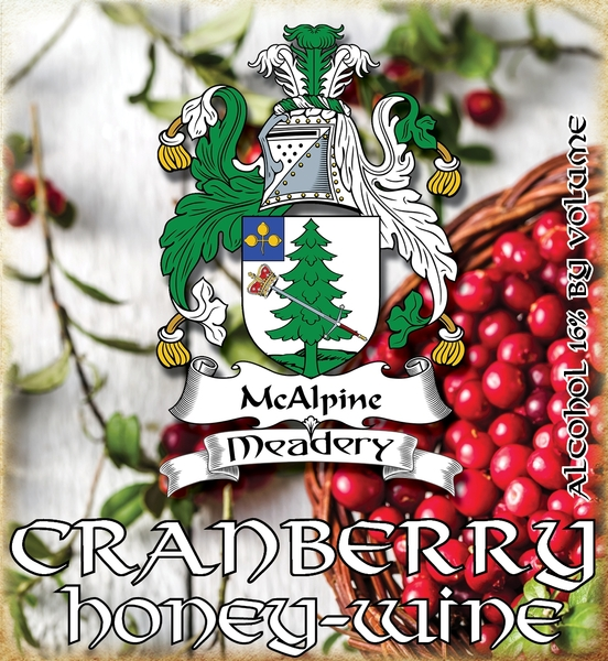 Product Image for 2018 Cranberry Honey-Wine