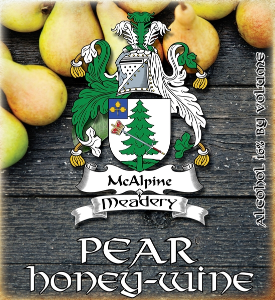 Product Image for 2018 Pear Honey-Wine