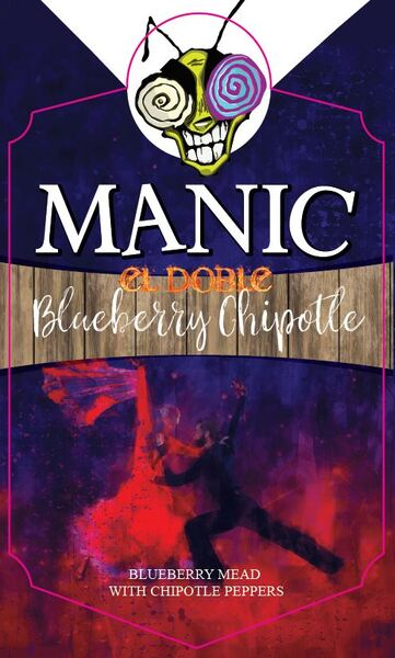 2020 El Doble Blueberry Chipotle
