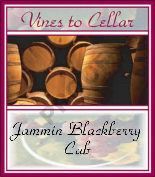 2019 Jammin Blackberry Cab (Blackberry Cabernet)