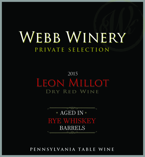 Product Image - 2015 2015 Rye Whiskey-Barrel Aged Leon Millot