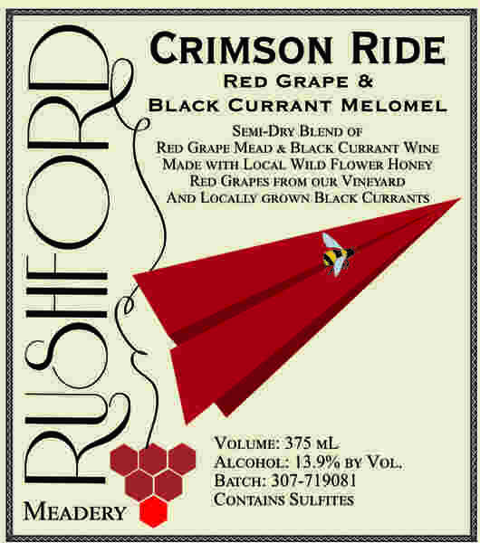 Product Image for 2017 Crimson Ride - 375mL