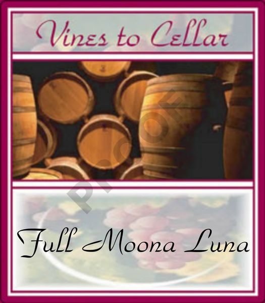 2019 Full Moona Luna (Oaked Chardonnay