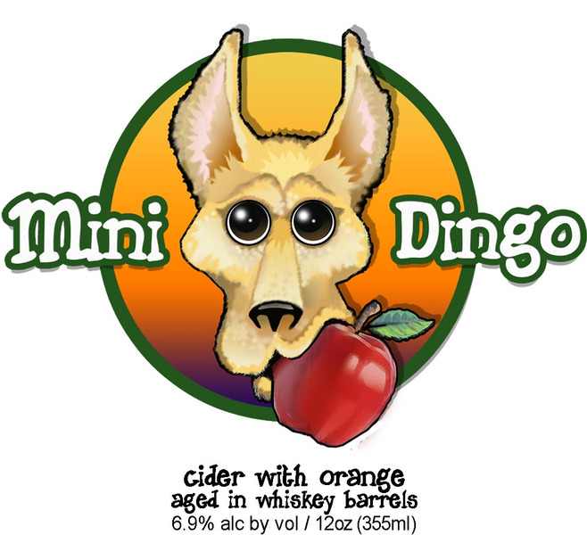 Mini Dingo (Whiskey Sour Inspired Cider) 4/pk
