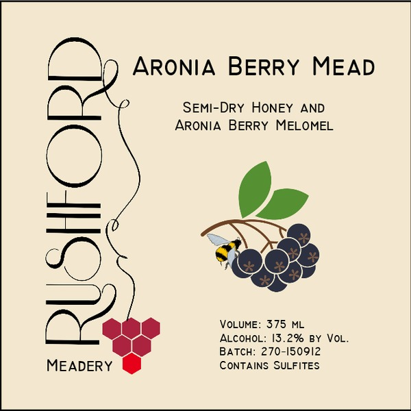 Product Image for 2015 Aronia Berry Mead - 375ml