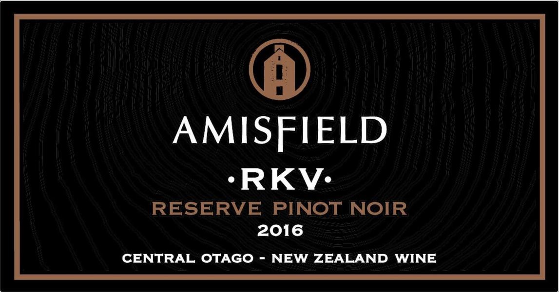 2016 Amisfield RKV Reserve Pinot Noir