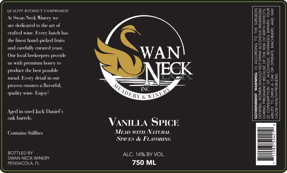 Product Image for 2017 Vanilla Spiced Mead