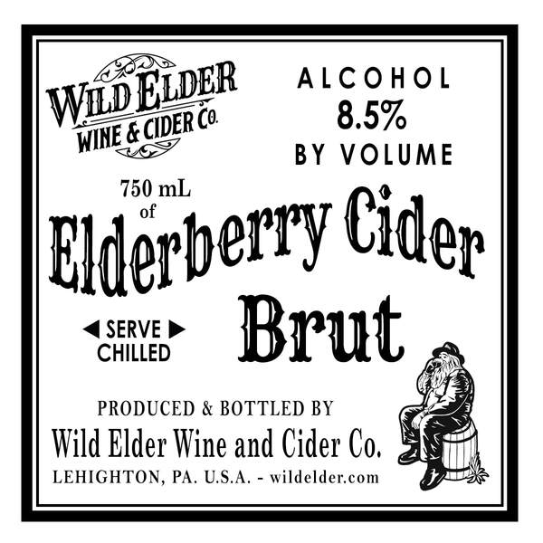 2019 Elderberry Cider