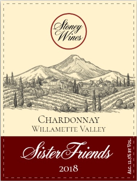 Product Image for 2018 Sister Friends Chardonnay