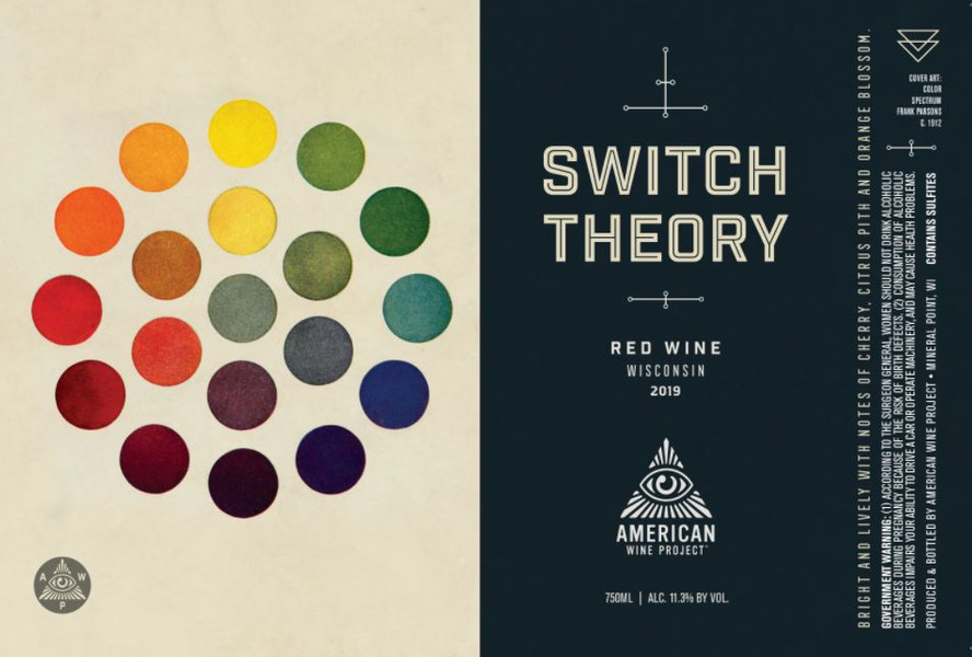Switch Theory Red Blend NV