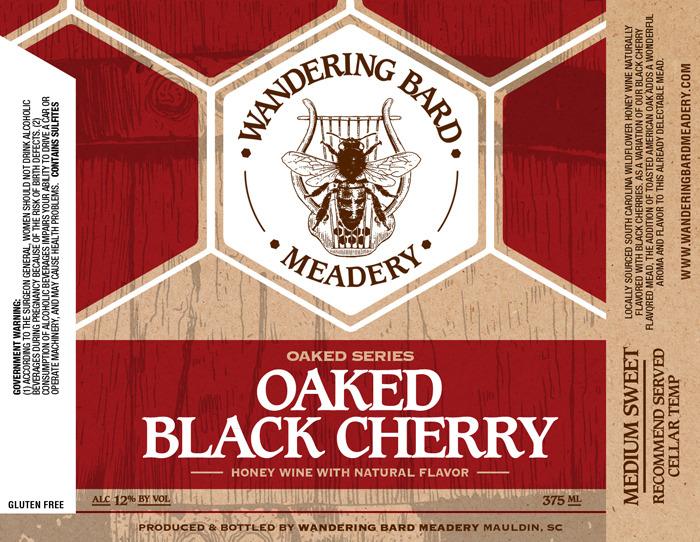 2019 Oaked Black Cherry