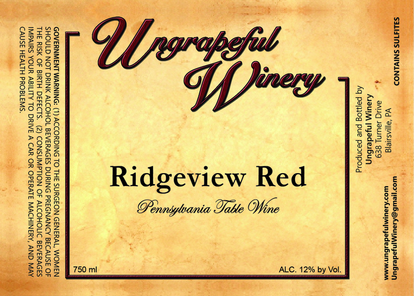 Product Image for Ridgeview Red