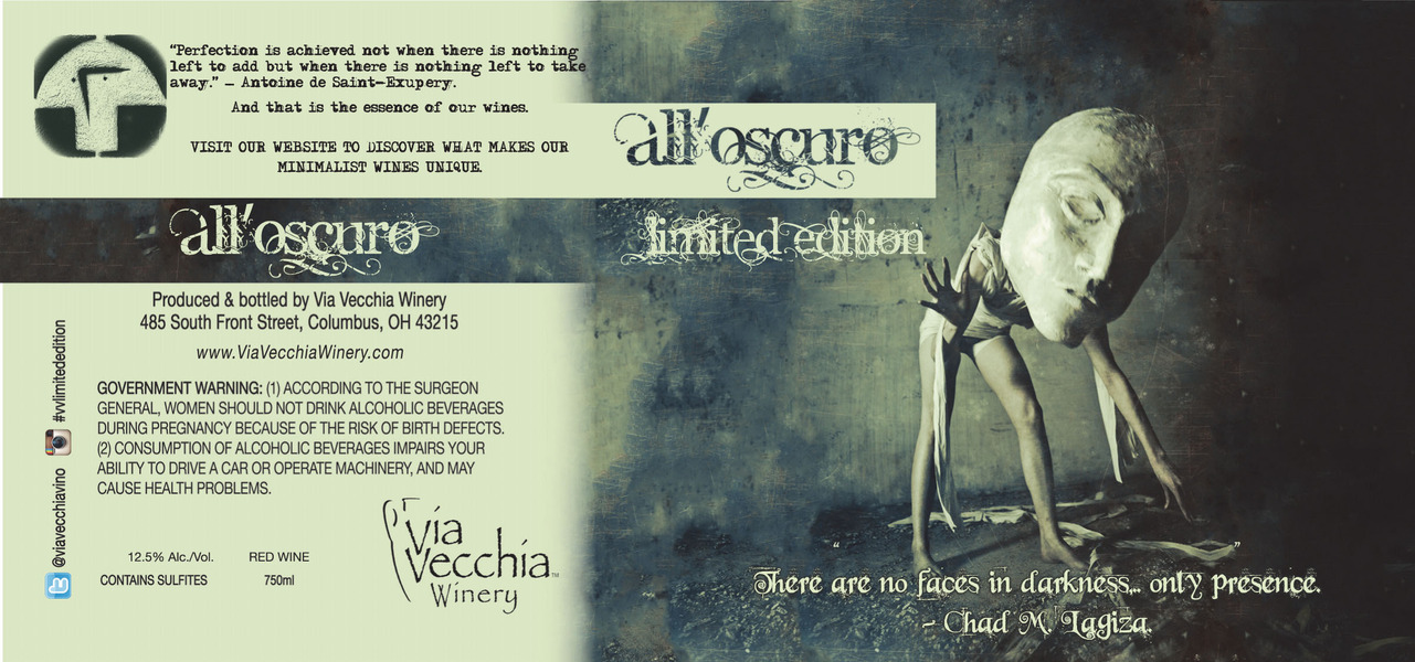 Product Image - all'oscuro (sangiovese/pinto noir)