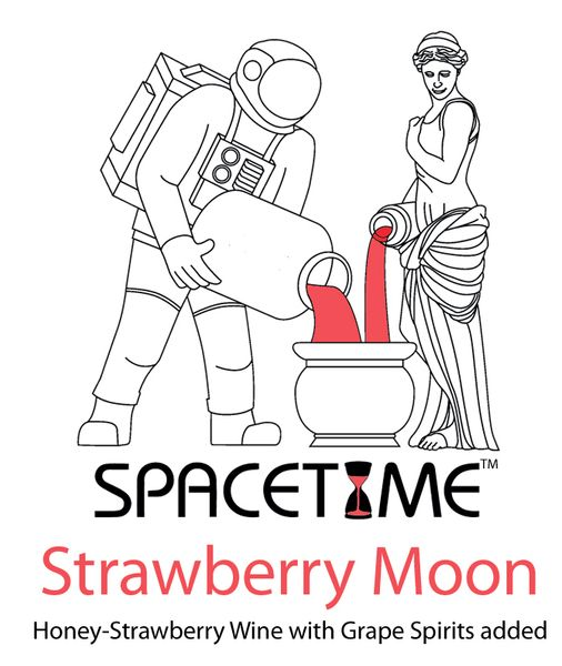 2020 Strawberry Moon