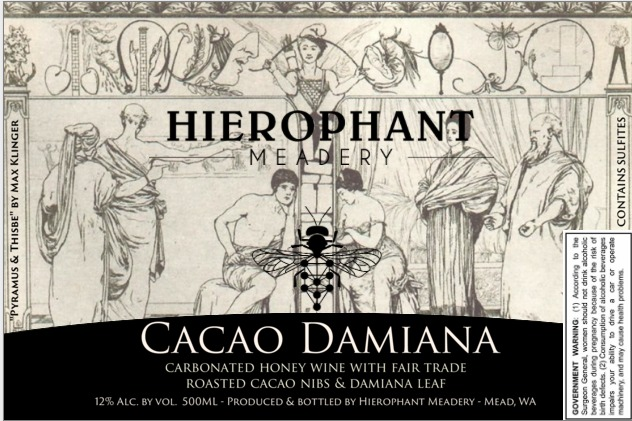 Product Image for Cacao Damiana 500ML - Sparkling Mead