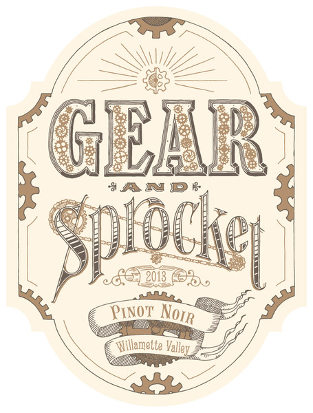 2013 Gear and Sprocket Pinot Noir